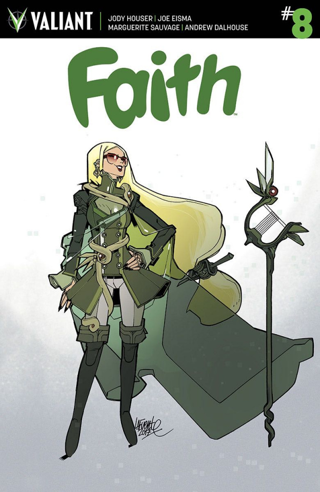 Faith #8 (Lafuente Cover)