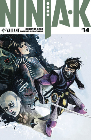 Ninja-K #14 (20 Copy Programme Hutchinson Cover)