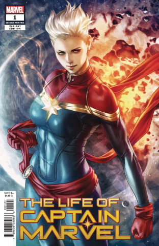 The Life of Captain Marvel #1 (Artgerm 2nd Printing)