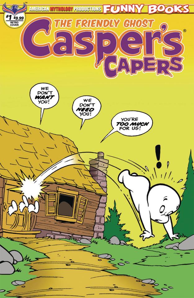 Casper's Capers #1 (Kremer Vintage Cover)