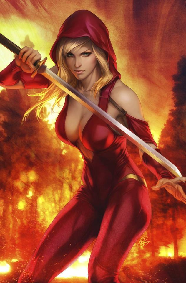 Grimm Fairy Tales: Realm War #5 (Artgerm Cover)