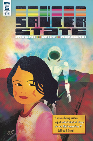 Saucer State #5 (Veregge Cover)