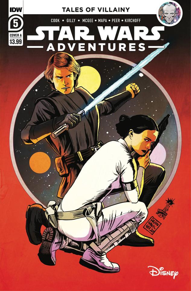 Star Wars Adventures #5 (Francavilla Cover)
