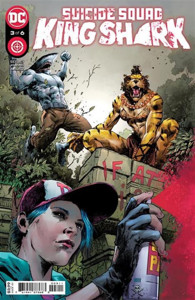 Suicide Squad: King Shark #3 (Trevor Hairsine Cover)