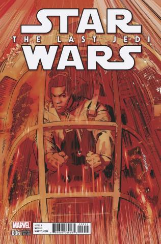 Star Wars: The Last Jedi #6 (Mayhew Cover)
