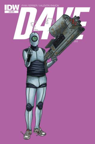 D4VE #5 (Subscription Cover)