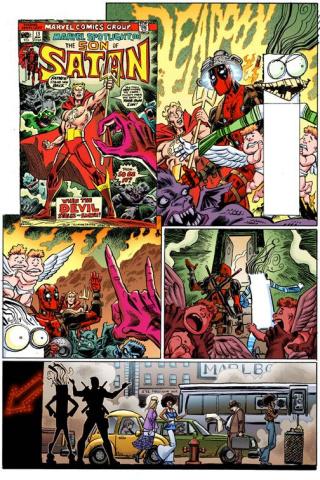 Deadpool #17 (Koblish Secret Comic Cover)