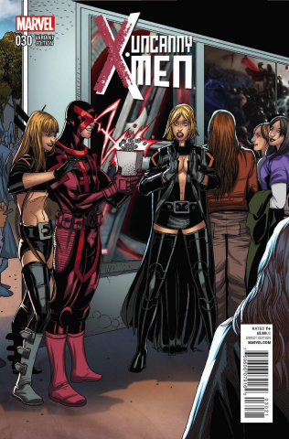 Uncanny X-Men #30 (Welcome Home Cover)