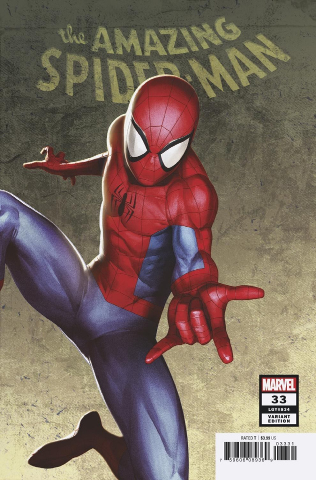 The Amazing Spider-Man #33 (Artist 2099 Cover)