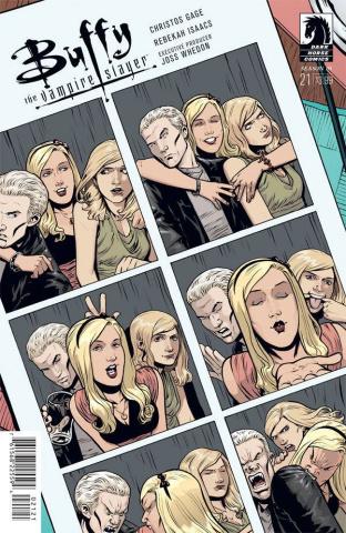 Buffy the Vampire Slayer, Season 10 #21 (Isaacs Cover)