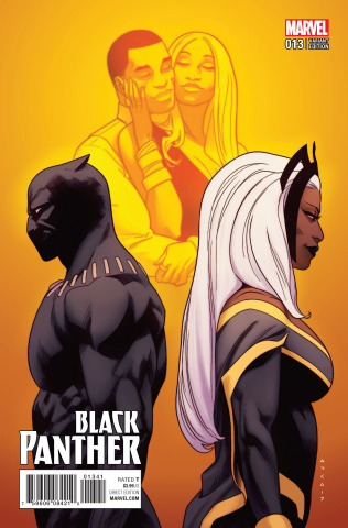 Black Panther #13 (Anka Cover)
