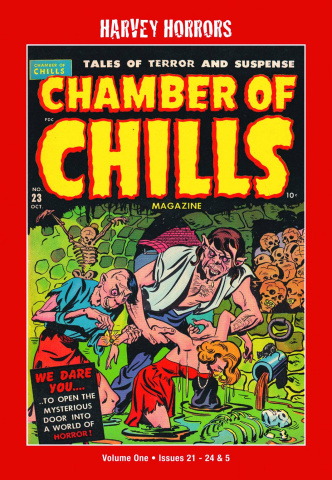 Harvey Horrors: Chamber of Chills Vol. 1