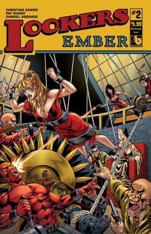 Lookers: Ember #2 (GGA Homage Cover)