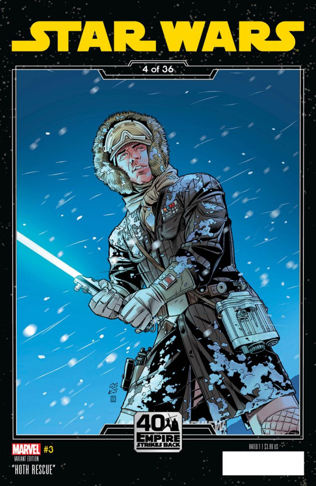Star Wars #3 (Sprouse Empire Strikes Back Cover)