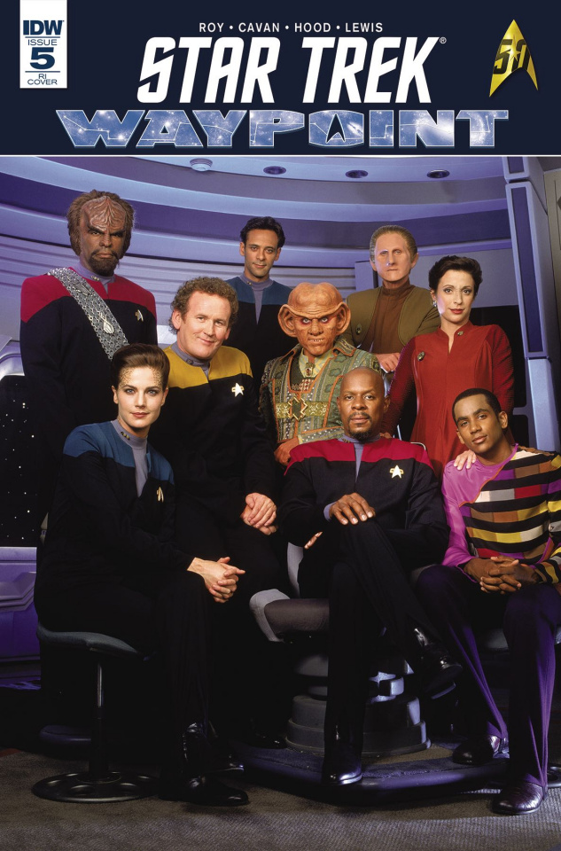 Star Trek: Waypoint #5 (10 Copy Cover)