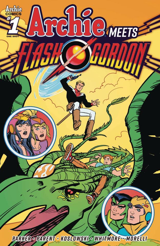 Archie Meets Flash Gordon (Jarrell Cover)