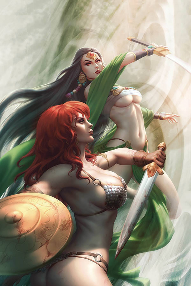 Red Sonja: Age of Chaos #6 (25 Copy Kunkka Virgin Cover)