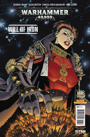 Warhammer 40,000: Will of Iron #1 (McCrea CoveR)