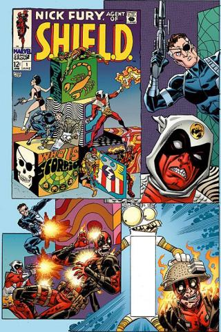 Deadpool #10 (Koblish Secret Comic Cover)