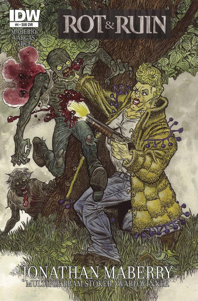 Rot & Ruin #4 (Subscription Cover)