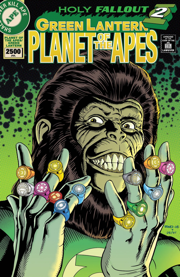 The Planet of the Apes / The Green Lantern #6 (20 Copy Rivoche Cover)