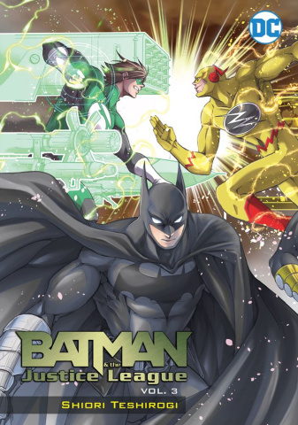 Batman & The Justice League Vol. 3 (Manga)