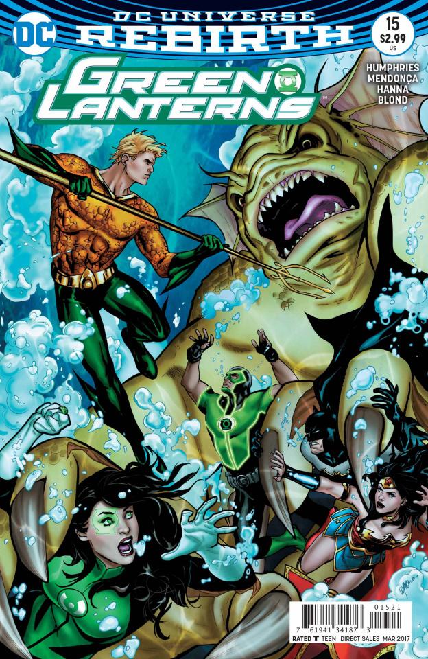 Green Lanterns #15 (Variant Cover)