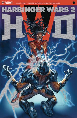 Harbinger Wars 2 #1 (250 Brushed Metal Larosa Cover)