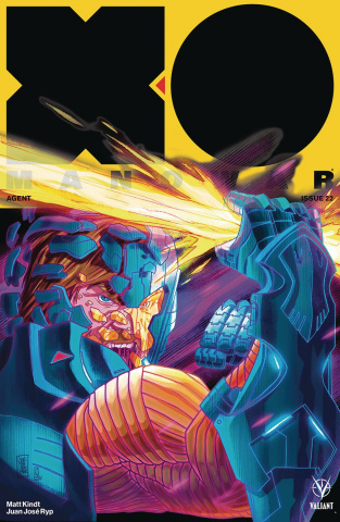 X-O Manowar #22 (Jothikumar Cover)