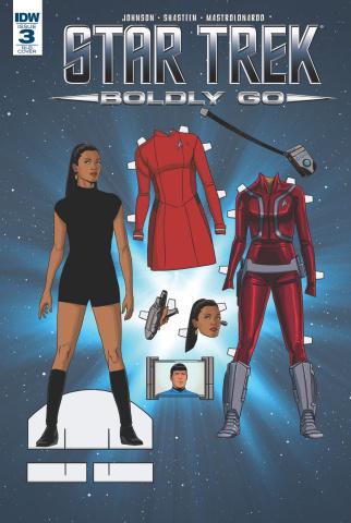 Star Trek: Boldly Go #3 (25 Copy Cover)