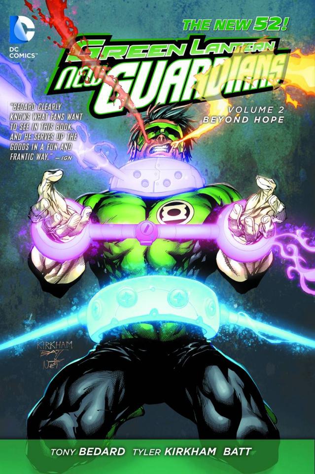 Green Lantern: New Guardians Vol. 2: Beyond Hope