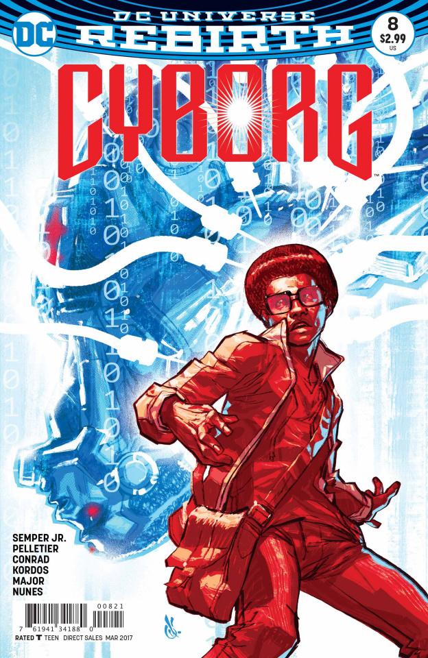 Cyborg #8 (Variant Cover)