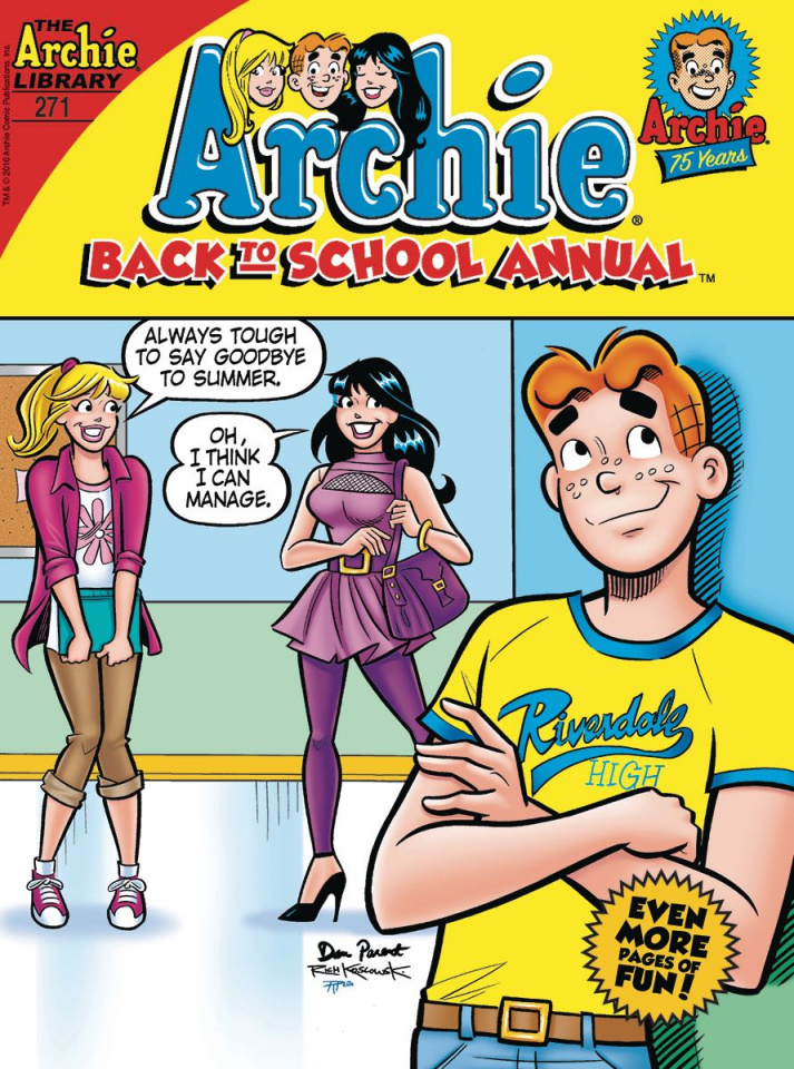 Archie: Back To School Annual Digest #271