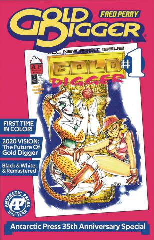Gold Digger #1: Antarctic Press 35th Anniversary Special