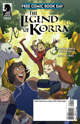The Legend of Korra & Nintendo Arms FCBD 2018 Special