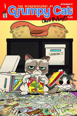 Grumpy Cat #1 (Maiden Cover)