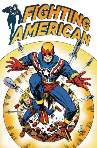 Fighting American #2 (Buckingham Cover)