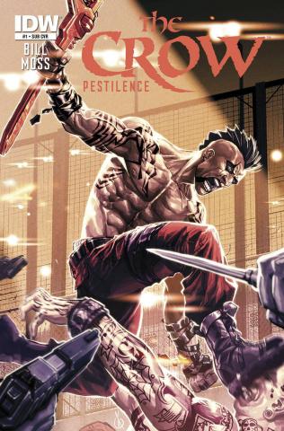 The Crow: Pestilence #1 (Subscription Cover)