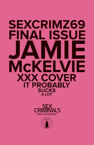 Sex Criminals #69 (XXX McKelvie Cover)