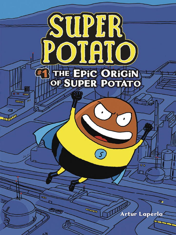 Super Potato Book 1: The Epic Origin of Super Potato