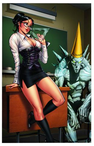 Grimm Fairy Tales #91 (Cucca Cover)