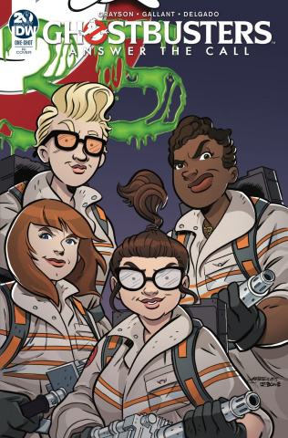 Ghostbusters 35th Anniversary (Answer Call Ghostbusters 10 Copy Cover)