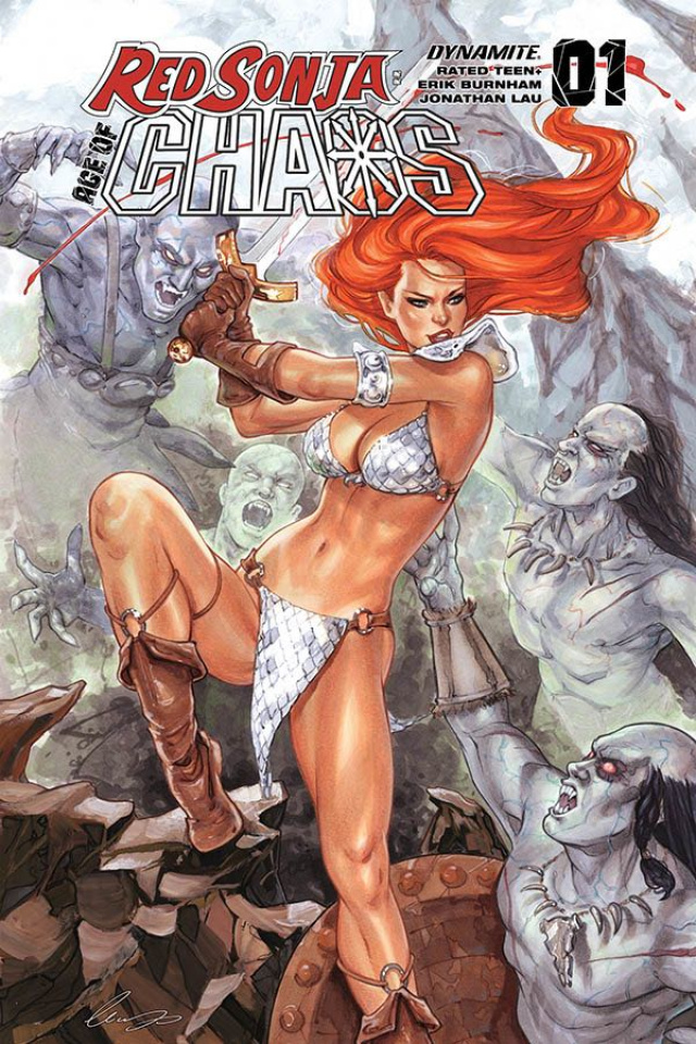 Red Sonja: Age of Chaos #1 (Chatzoudis Bonus Cover)