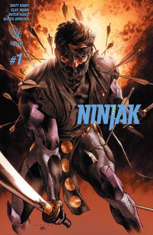 Ninjak #1 (3rd Printing)