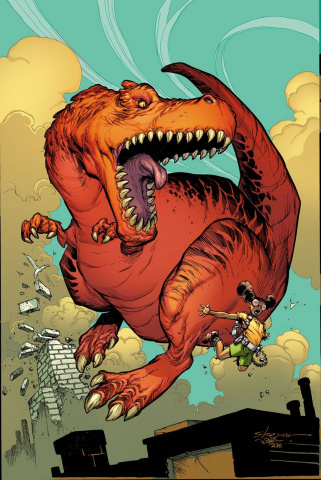 Moon Girl and Devil Dinosaur #13 (Classic Cover)