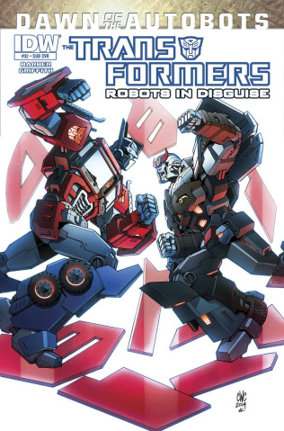 The Transformers: Robots in Disguise #32 (Subscription Cover)