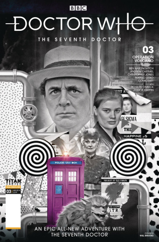 Doctor Who: The Seventh Doctor #3 (Photo Cover)