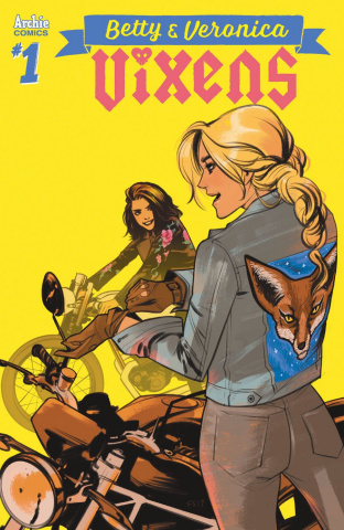 Betty & Veronica: Vixens #1 (Fiona Staples Cover)