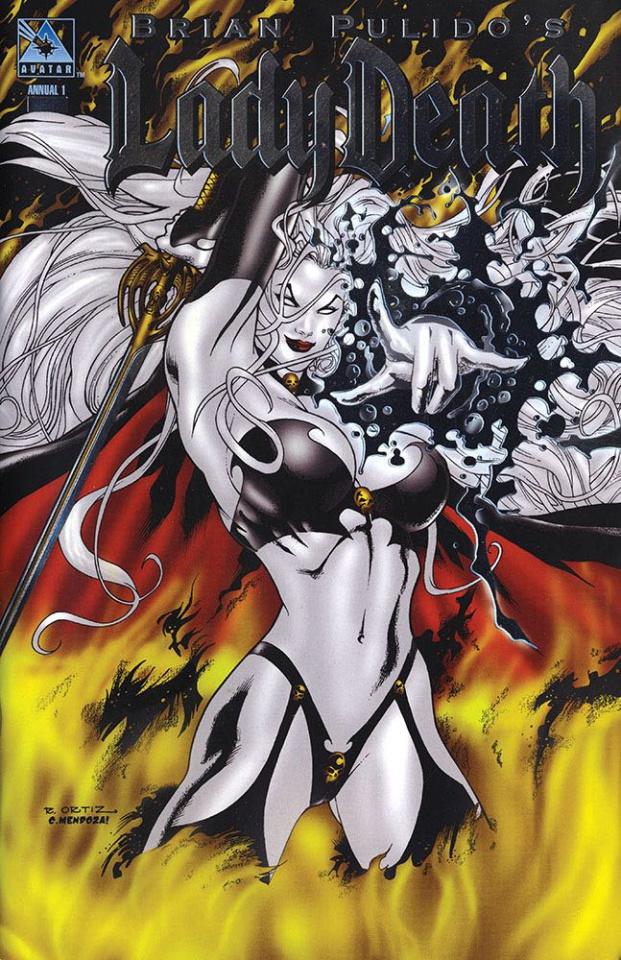 Lady Death Annual #1 (Platinum Foil Cover)