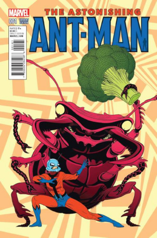 Astonishing Ant-Man #1 (Moore Kirby Monster Cover)